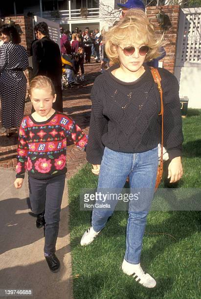 Actress Charlene Tilton and daughter Cherish Lee attend the Henry Winkler's Annual Brunch to Celebrate the Tenth Annual Celebrity Day at MacLaren...
