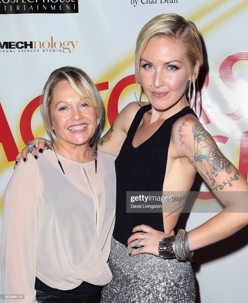 Actress <a gi-track='captionPersonalityLinkClicked' href=/galleries/search?phrase=Charlene+Tilton&family=editorial&specificpeople=216512 ng-click='$event.stopPropagation()'>Charlene Tilton</a> (L) and daughter singer <a gi-track='captionPersonalityLinkClicked' href=/galleries/search?phrase=Cherish+Lee&family=editorial&specificpeople=809422 ng-click='$event.stopPropagation()'>Cherish Lee</a> attend Actors for Autism and Rockwell Table & Stage presents Reach for the Stars at Rockwell Table & Stage on October 2, 2013 in Los Angeles, California.