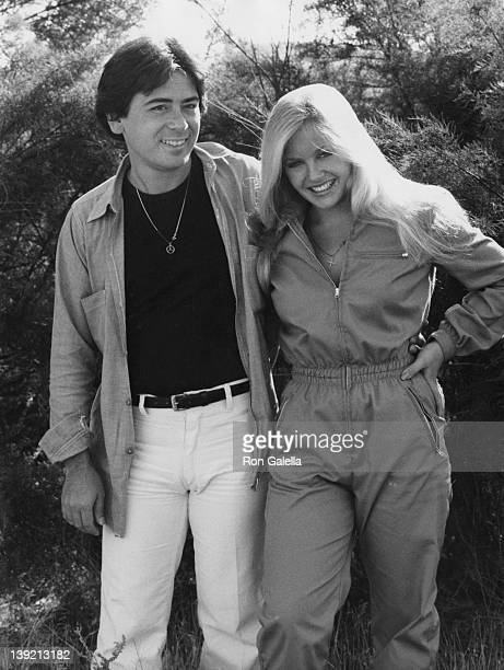 Actress Charlene Tilton and Jon Mercedes being photographed ballooing on September 22 1979 in Lancaster California