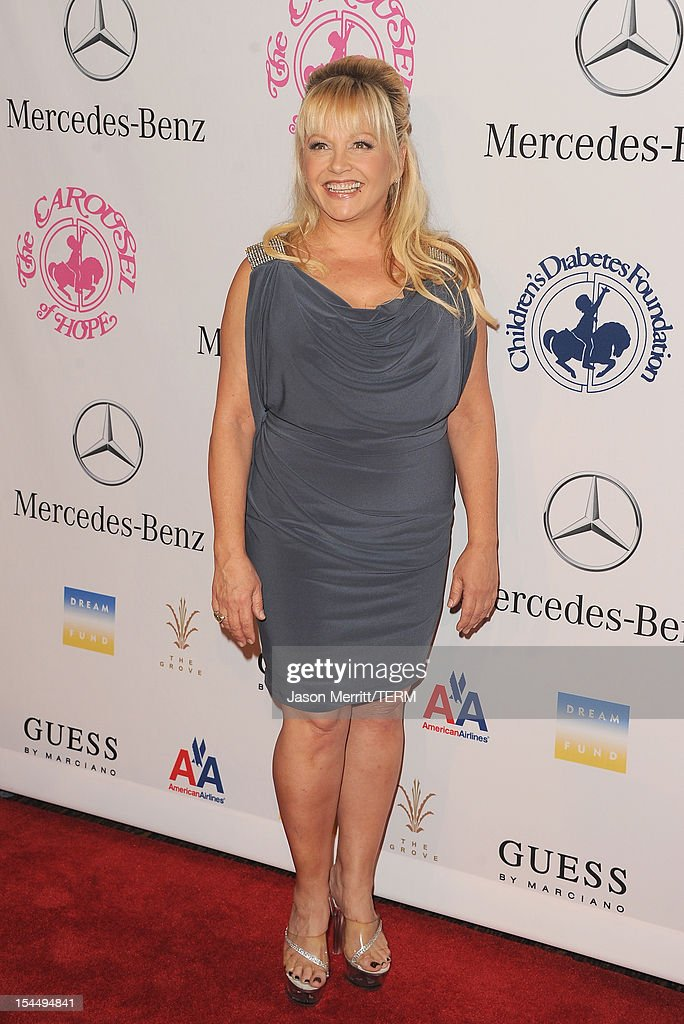 Actress Charlene Tilton arrives at the 26th Anniversary Carousel Of Hope Ball presented by Mercedes-Benz at The Beverly Hilton Hotel on October 20, 2012 in Beverly Hills, California.