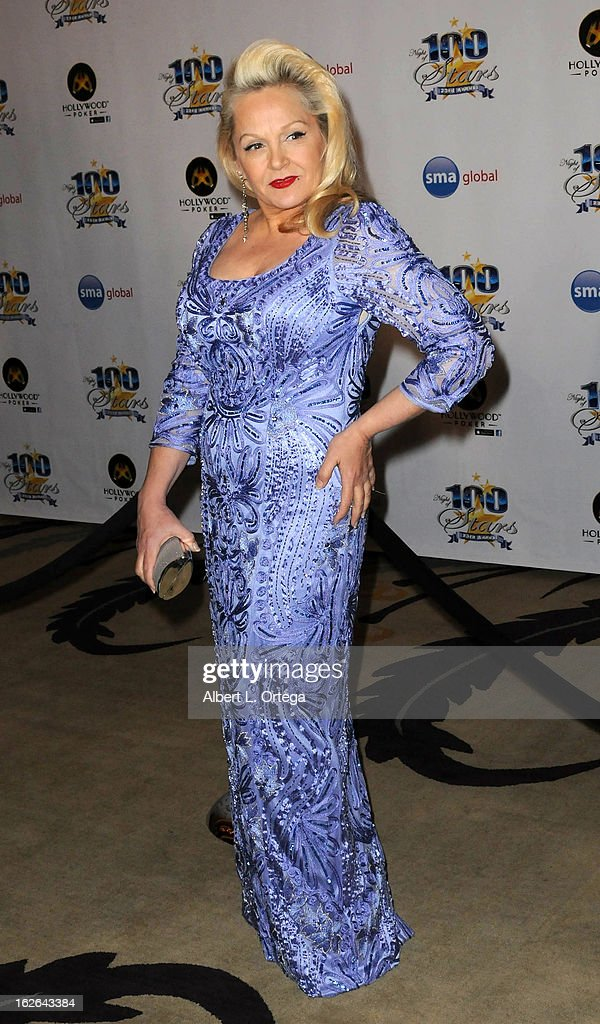 Actress <a gi-track='captionPersonalityLinkClicked' href=/galleries/search?phrase=Charlene+Tilton&family=editorial&specificpeople=216512 ng-click='$event.stopPropagation()'>Charlene Tilton</a> arrives for The 2013 TCA Winter Press Tour - FOX All-Star Party held at The Langham Huntington Hotel and Spa on January 8, 2013 in Pasadena, California.