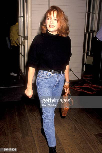 Actress Charlene Tilton attend the Howard Fine Acting Studio's Third Annual Celebration on December 9 1991 at the Santa Monica Pier Carousel in Santa...