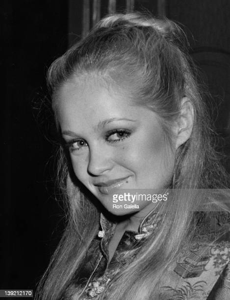 Actress Charlene Tilton attending 'Birthday Party for Erik Estrada Hosted by Beverly Sassoon' on March 7 1981 at Madame Wu's Restaurant in Beverly...