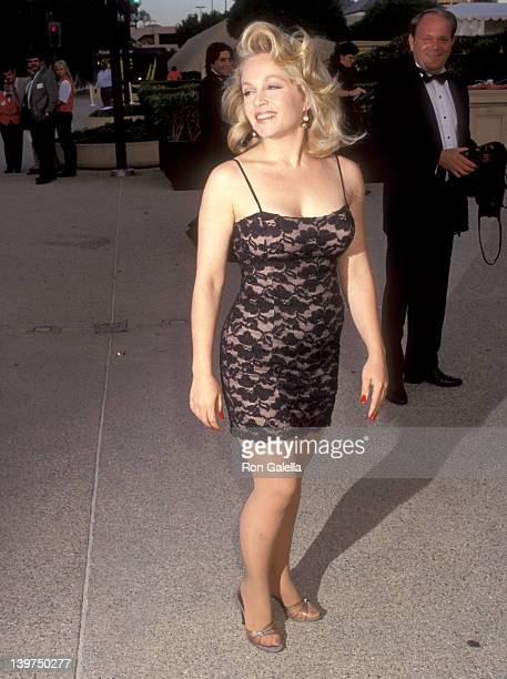 Actress Charlene Tilton attends the 1992 Primetime Creative Arts Emmy Awards on August 29 1992 at Pasadena Civic Auditorium in Pasadena California