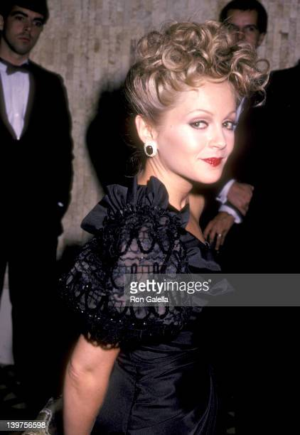 Actress Charlene Tilton attends the 30th Annual Thalians Ball on October 12 1985 at Century Plaza Hotel in Los Angeles California