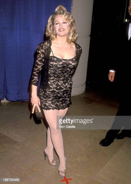 Actress Charlene Tilton attends the 50th Annual Golden Globe Awards on January 23 1993 at the Beverly Hilton Hotel in Beverly Hills California