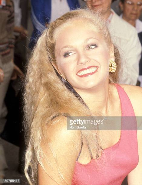 Actress Charlene Tilton attends the 57th Annual Photoplay Awards on September 29 1979 at TAV Celebrity Theatre in Hollywood California