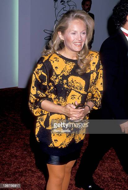 Actress Charlene Tilton attends the First Annual American Comedy Awards on May 19 1987 at Hollywood Palladium in Hollywood California