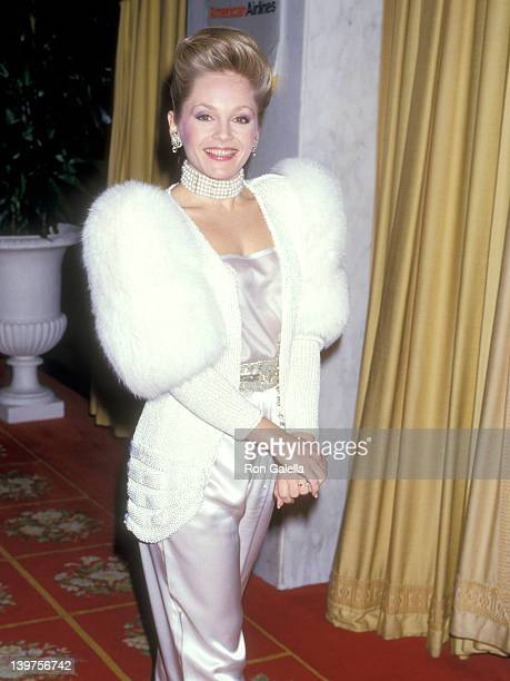 Actress Charlene Tilton attends the Fourth Annual American Cinema Awards on January 9 1987 at Beverly Wilshire Hotel in Beverly Hills California