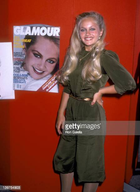 Actress Charlene Tilton attends the Glamour Magazine's Diet Challenge Final WeighIn Devised for Charlene Tilton on July 15 1981 at Glamour Magazine...