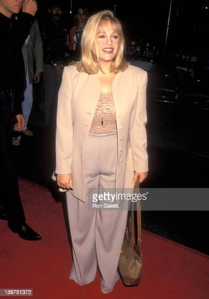 Actress Charlene Tilton attends the Grand Opening of the Country Star Restaurant on August 21 1994 at the Country Star Restaurant Universal Studios...