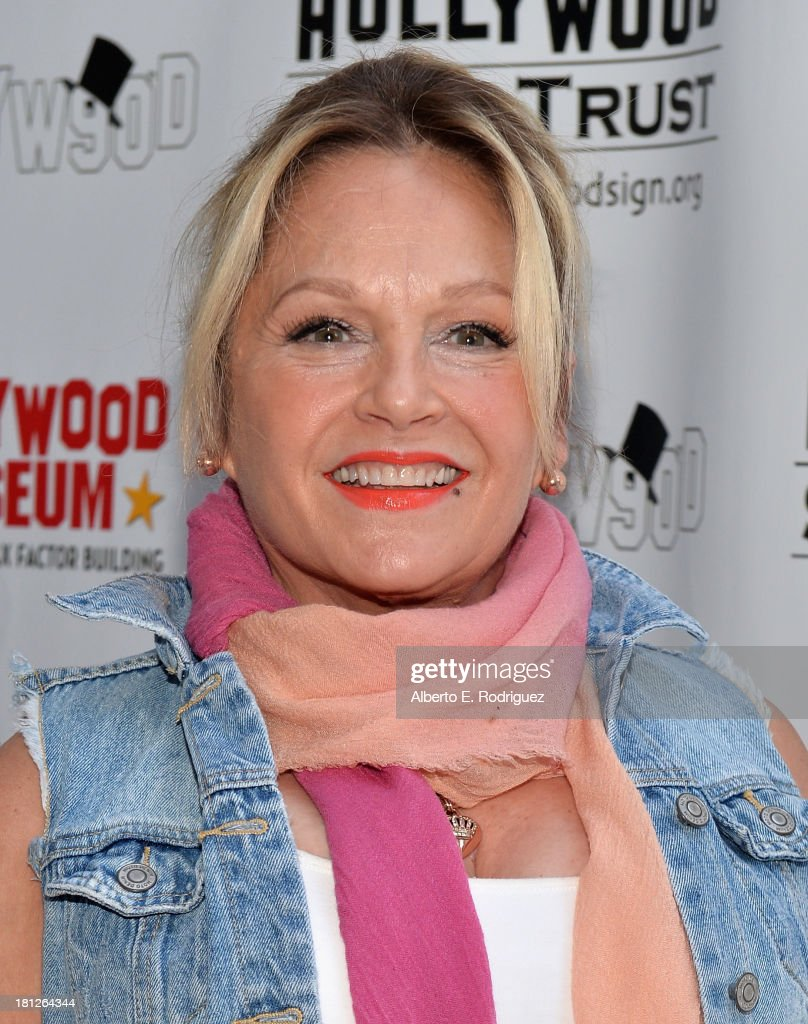 Actress <a gi-track='captionPersonalityLinkClicked' href=/galleries/search?phrase=Charlene+Tilton&family=editorial&specificpeople=216512 ng-click='$event.stopPropagation()'>Charlene Tilton</a> attends The Hollywood Chamber of Commerce & The Hollywood Sign Trust's 90th Celebration of the Hollywood Sign at Drai's Hollywood on September 19, 2013 in Hollywood, California.