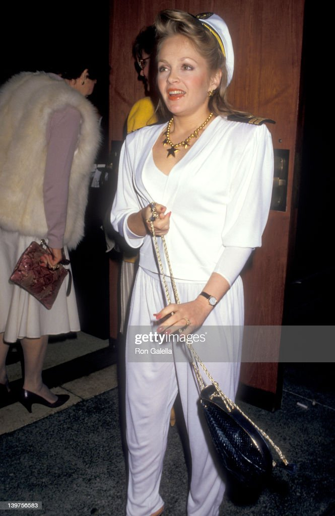 Actress Charlene Tilton attends the ''Light Up the Sky' Opening Night Performance on March 8 1987 at Ahmanson Theatre Los Angeles Music Center in Los...