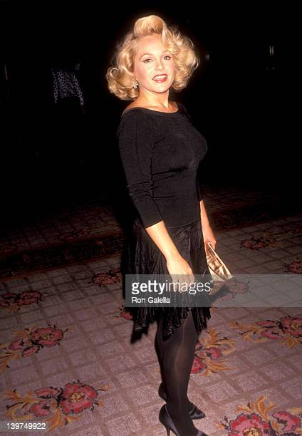 Actress Charlene Tilton attends the NAACP Los Angeles Chapter Ninth Annual Roy Wilkins Awards Dinner on July 19 1991 at Century Plaza Hotel in Los...