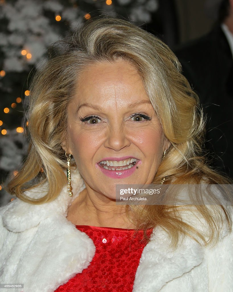 Actress <a gi-track='captionPersonalityLinkClicked' href=/galleries/search?phrase=Charlene+Tilton&family=editorial&specificpeople=216512 ng-click='$event.stopPropagation()'>Charlene Tilton</a> attends the opening night of 'Aladdin And His Winter Wish' at the Pasadena Playhouse on December 11, 2013 in Pasadena, California.
