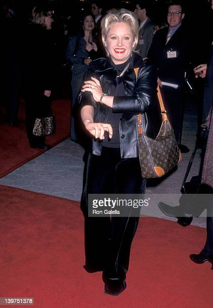 Actress Charlene Tilton attends the 'Primary Colors' Universal City Premiere on March 12 1998 at Cineplex Odeon Universal City Cinemas in Universal...