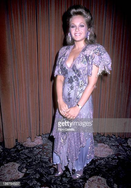 Actress Charlene Tilton attends the Second Annual Amanda Foundation Celebrity Fashion Show on September 10 1986 at Beverly Hilton Hotel in Beverly...