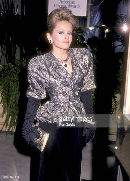 Actress Charlene Tilton attends the Second Annual American Cinema Awards on November 22 1985 at Beverly Wilshire Hotel in Beverly Hills California