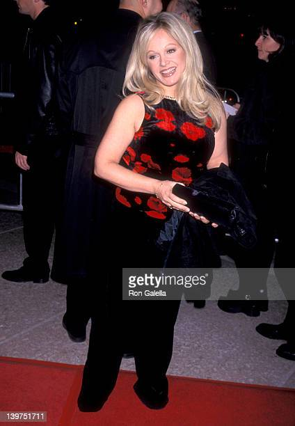 Actress Charlene Tilton attends the 'Wag the Dog' Century City Premiere on December 17 1997 at Cineplex Odeon Century Plaza Cinemas in Century City...