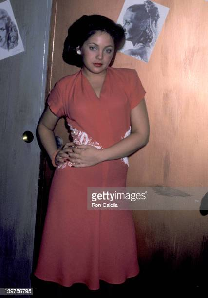 Actress Charlene Tilton on February 17 1980 on the Set of the Short Film 'Pale Horse Pale Rider' at the USOGreater Los Angeles Area in Los Angeles...