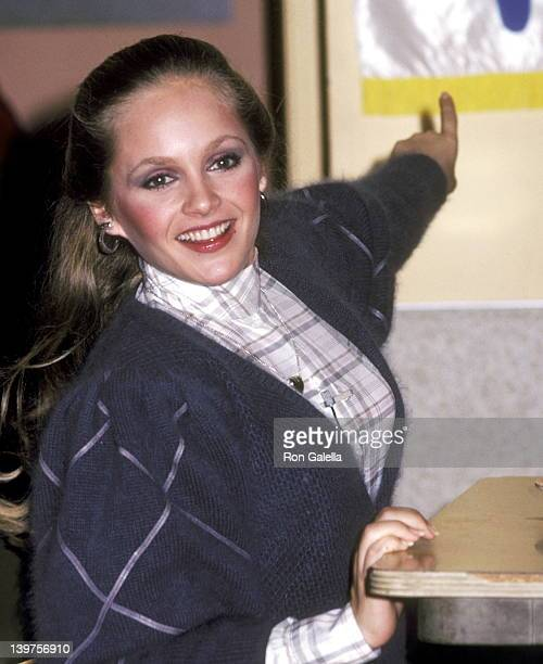 Actress Charlene Tilton on March 1 1983 sighting at the Easter Seals Hollywood MidWilshire Community Skills Training Center in Hollywood California
