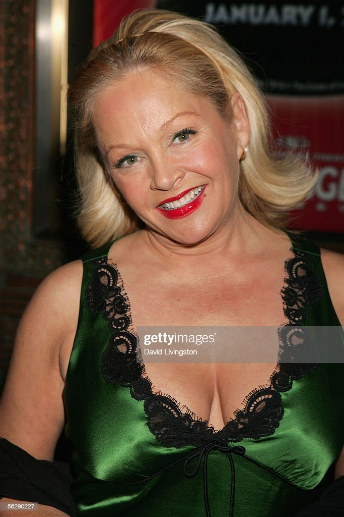 Actress <a gi-track='captionPersonalityLinkClicked' href=/galleries/search?phrase=Charlene+Tilton&family=editorial&specificpeople=216512 ng-click='$event.stopPropagation()'>Charlene Tilton</a> poses prior to the opening night performance of Irving Berlin's 'White Christmas' at the Pantages Theatre on November 28, 2005 in Hollywood, California.