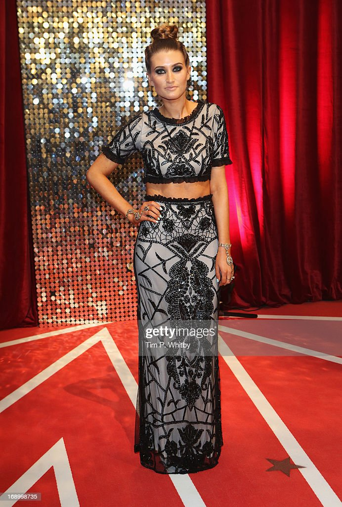 Actress Charley Webb attends the British Soap Awards at Media City on May 18, 2013 in Manchester, England.