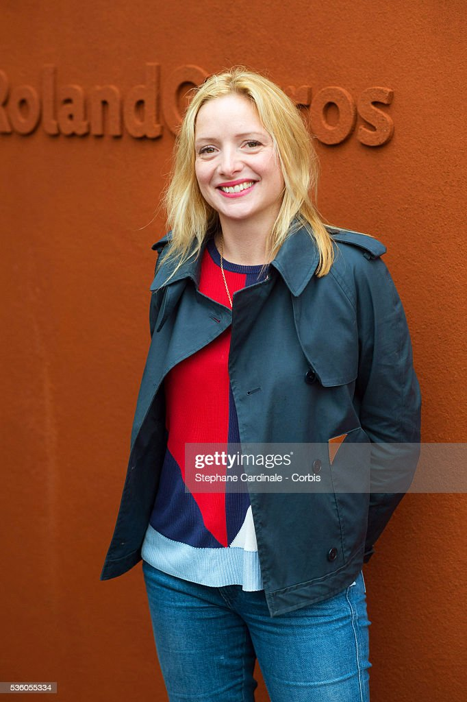 Actress Charlie Bruneau attends day ten of the 2016 French Open at Roland Garros on May 31, 2016 in Paris, France.