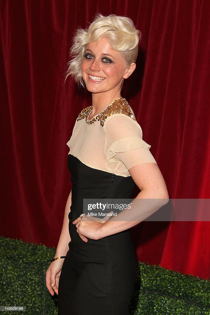 Actress Charlie Clemmow attends the British Soap Awards at The London Television Centre on April 28, 2012 in London, England.