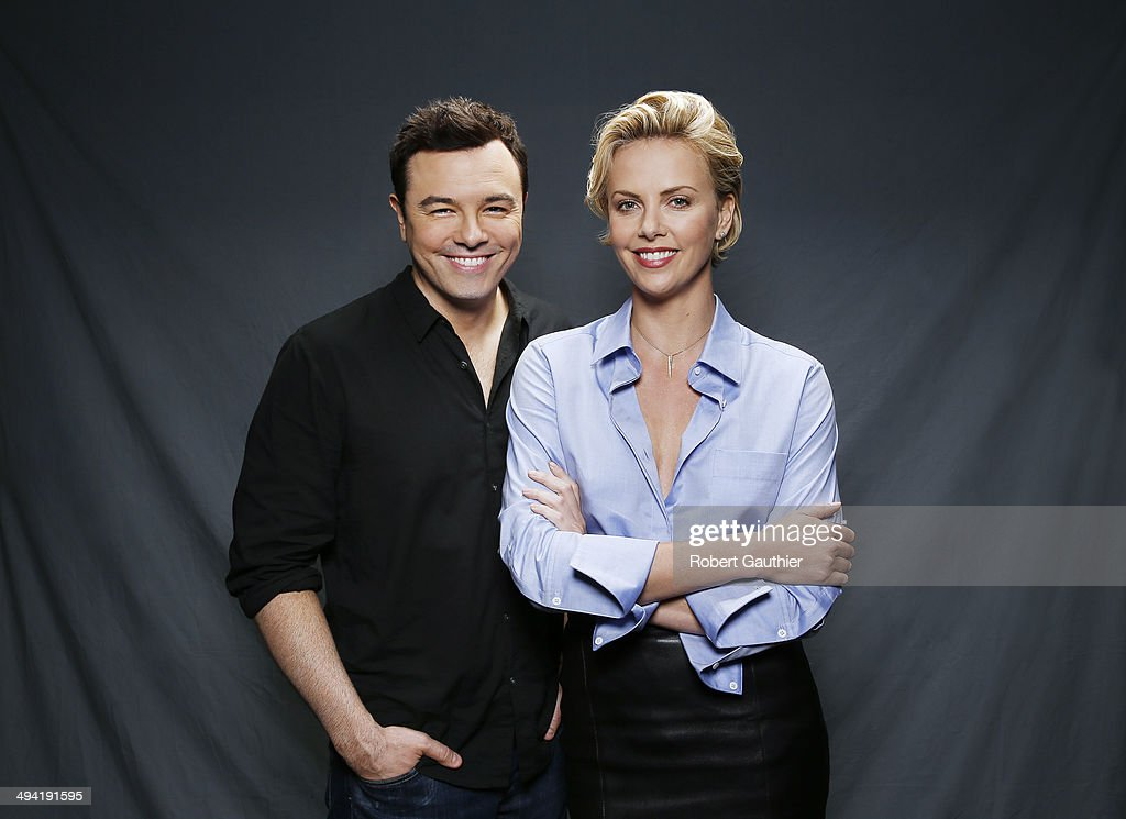 Charlize Theron and Seth Macfarlane, Los Angeles Times ...