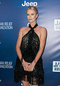 Actress Charlize Theron arrives at the 4th Annual Sean Penn Friends HELP HAITI HOME Gala Benefiting J/P Haitian Relief Organization at Montage Hotel...
