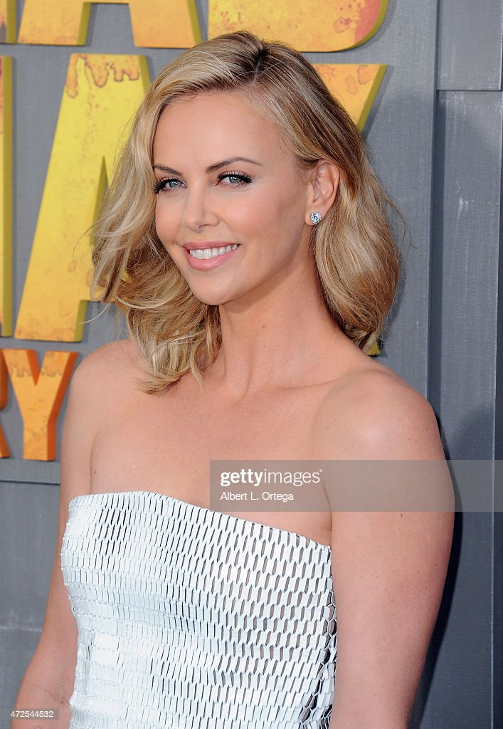 Actress Charlize Theron arrives for the Premiere Of Warner Bros. Pictures' 'Mad Max: Fury Road' held at TCL Chinese Theatre on May 7, 2015 in Hollywood, California.