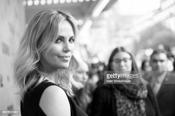 Actress Charlize Theron attends the 'Atomic Blonde' premiere 2017 SXSW Conference and Festivals on March 12 2017 in Austin Texas