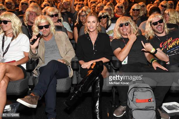 Actress Charlize Theron attends the 'Atomic Blonde' San Diego Comic Con Fan Screening on July 22 2017 in San Diego California