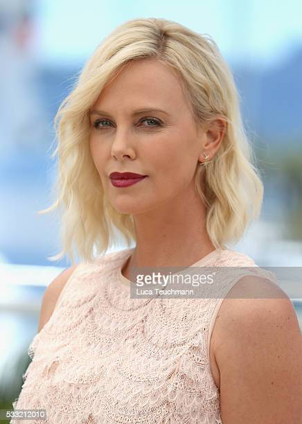 Actress Charlize Theron attends 'The Last Face' Photocall during the 69th annual Cannes Film Festival at the Palais des Festivals on May 20 2016 in...