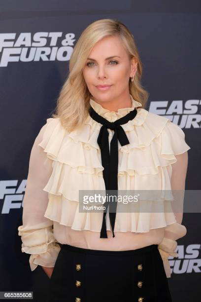 Actress Charlize Theron attends the photocall of FAST amp FURIOUS 8 in Madrid Spain April 6 2017