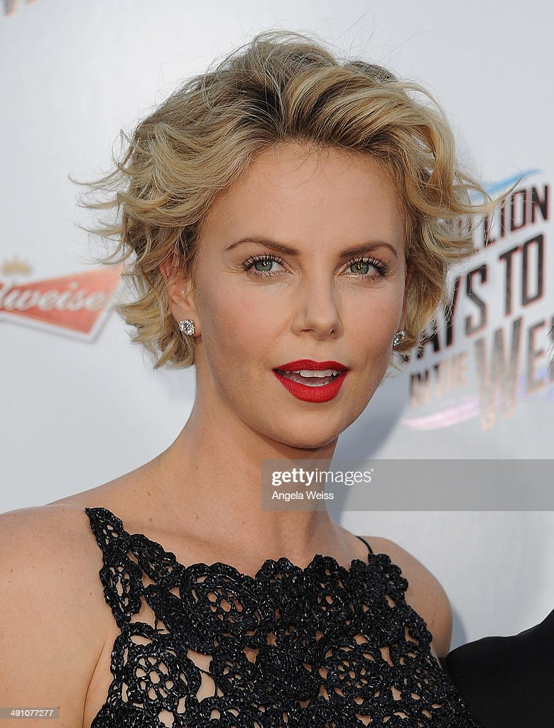 Actress Charlize Theron attends the premiere of 'A Million Ways To Die In The West' presented by Budweiser at Regency Village Theatre on May 15, 2014 in Los Angeles, California.