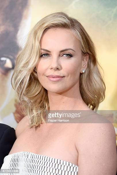 Actress Charlize Theron attends the premiere of Warner Bros Pictures' 'Mad Max Fury Road' at TCL Chinese Theatre on May 7 2015 in Hollywood California