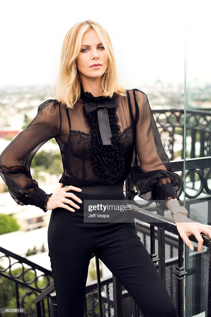 Actress <a gi-track='captionPersonalityLinkClicked' href=/galleries/search?phrase=Charlize+Theron&family=editorial&specificpeople=171250 ng-click='$event.stopPropagation()'>Charlize Theron</a> is photographed at the London Hotel for the Mad Max: Fury Road press day on January 30, 2015 in West Hollywood, California.