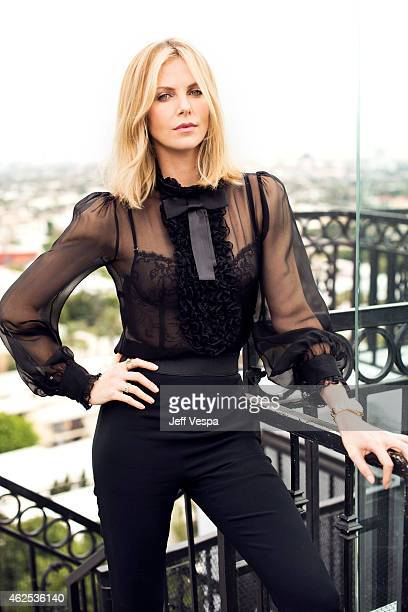 Actress Charlize Theron is photographed at the London Hotel for the Mad Max Fury Road press day on January 30 2015 in West Hollywood California