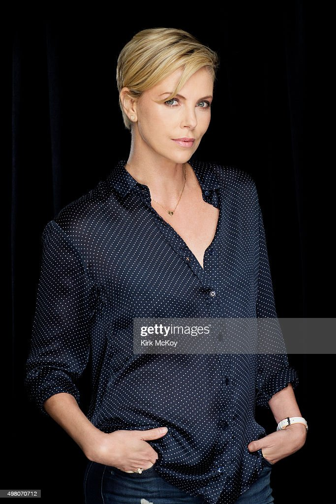 Actress Charlize Theron is photographed for Los Angeles Times on November 13, 2015 in Los Angeles, California. PUBLISHED IMAGE.