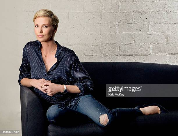 Actress Charlize Theron is photographed for Los Angeles Times on November 13 2015 in Los Angeles California PUBLISHED IMAGE CREDIT MUST READ Kirk...