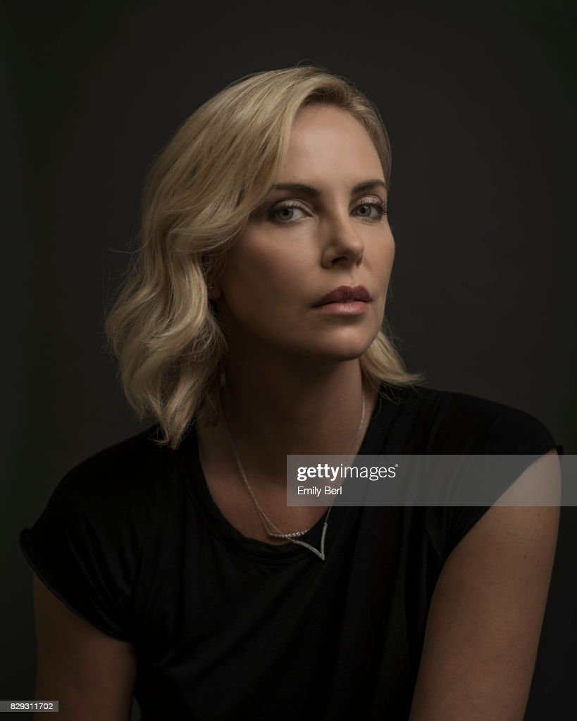 Actress Charlize Theron is photographed for New York Times on June 22, 2017 in Los Angeles, California.