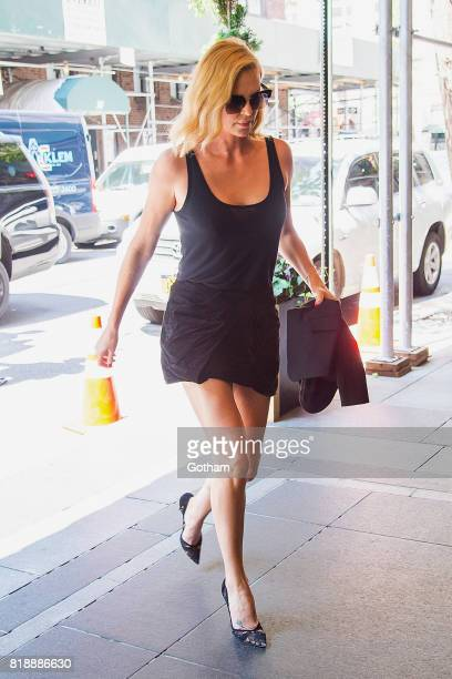 Actress Charlize Theron is seen in Midtown on July 19 2017 in New York City