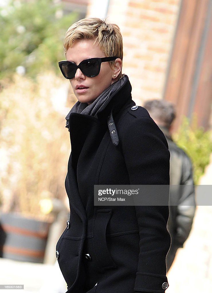 Actress <a gi-track='captionPersonalityLinkClicked' href=/galleries/search?phrase=Charlize+Theron&family=editorial&specificpeople=171250 ng-click='$event.stopPropagation()'>Charlize Theron</a> is seen on April 2, 2013 in New York City.
