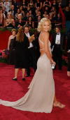 Actress Charlize Theron nominated for Best Actress for her performance in 'Monster' attends the 76th Annual Academy Awards at the Kodak Theater on...