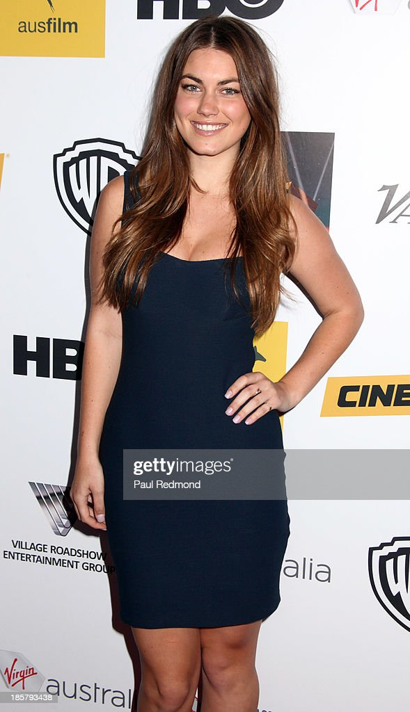 Actress Charlotte Best arrives at the Australians In Film Benefit Dinner at the InterContinental Hotel on October 24, 2013 in Century City, California.