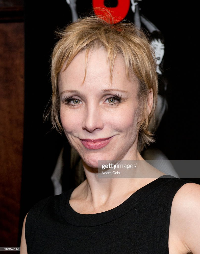 Actress Charlotte d'Amboise attends an after party marking the 7486th performance of 'Chicago' the second longest running Broadway show of all time...