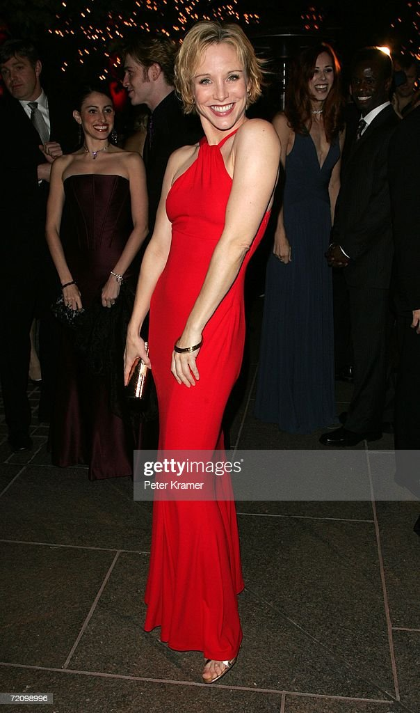 Actress Charlotte d'Amboise attends the after party for the opening night of 'A Chorus Line' October 5 2006 in New York City