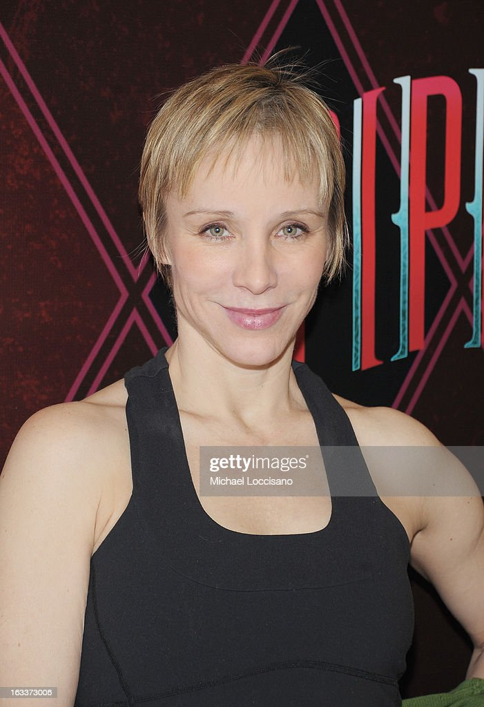 Actress Charlotte d'Amboise attends the 'Pippin' Broadway Open Press Rehearsal at Manhattan Movement Arts Center on March 8 2013 in New York City